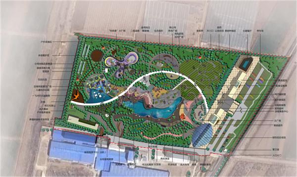 山东青岛即墨田瑞牧业田园综合体规划方案设计